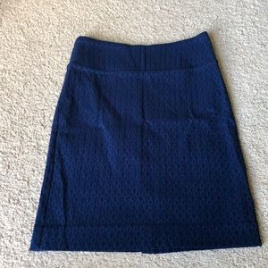 Margaret M royal blue skirt